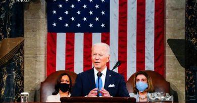 Joe Biden, en su primer discurso ante el Congreso