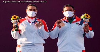 Quiénes son Alejandra Valencia y Luis Álvarez, los arqueros que dieron a México su primera medalla en Tokio 2020